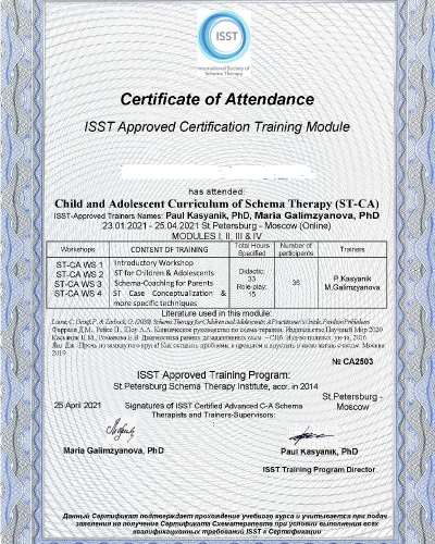 Сертификат (ID: 18095)